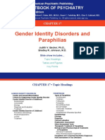 17 Gender Identity Disorders and Paraphilias