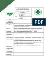 8.6.1 Ep 3 Pemantauan Berkala Pelaksanaan Prosedur Pemeliharaan Dan Sterilisasi Instrumen
