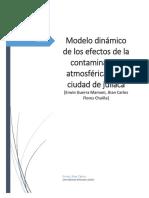 Simulacion Dinamica de La Contaminacion Atmosferica