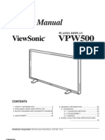 ViewSonic VPW500 Plasma