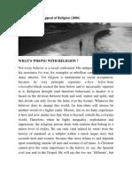 El Persistente Atractivo de La Religión - Gilles Dauvé