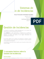 Sistemas de Gestion de Incidencia