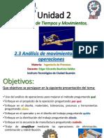 Unidad 2 - Tema 2.3 Análisis de La Operación