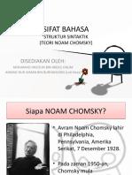 Struktur Sintaktik Noam Chomsky