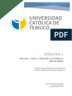 Ensayo 1 DDO-Cine y Video de Pueblos Originarios
