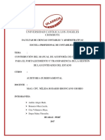Investigacion Fomativa Auditoria Gubernamental