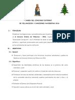 Bases Del i Concurso Interno de Villancicos y Canciones Navidenas 2008
