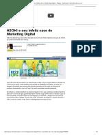 H2OH! e Seu Infeliz Case de Marketing Digital - Artigos - Marketing - Administradores