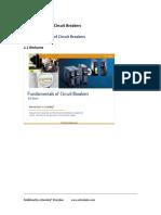 Fundamentals of Circuit Breakers