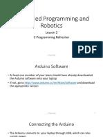 EmbeddedWorkshop 02 C Refresher