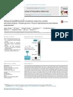 Advanced Landfill Leachate Treatment Using Iron-carbon