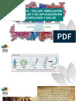 Sesiones 1 y 2 de la Conferencia-Taller Simulación molecular y su aplicación en biotecnología y salud en biotecnología y salud