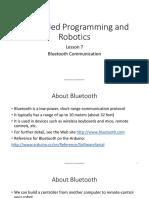 EmbeddedWorkshop 07 Bluetooth