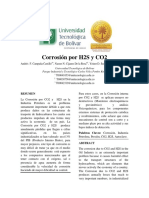 Review Corrosión Por CO2 y H2S