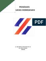 Pedoman Pengorganisasian KEBIDANAN Edit