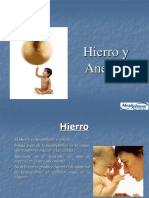 Hierro y Anemia 2009