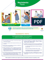 Rotafolio Materno Infantil Consejería Parto, Postparto, Lactancia y Cuidados de Bebé Del Nacimiento a 6 Meses