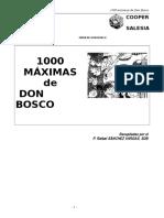 1000 Maximas de Don Bosco IMp