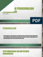 Desain Dan Pengendalian Organisasi Dan Analisis Pasar