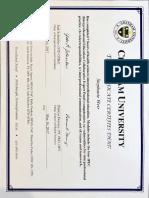 ipe certificate