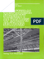 (DEsign Manual) Hollow Section Structural Stability