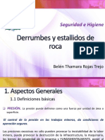 Derrumbes y Estallidos de Roca