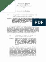 OCA Circular No. 163 2013