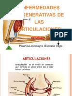 enfermedades degenerativas de las articulaciones