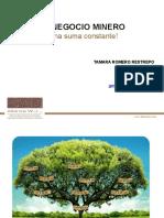 MEMORIAS PRESENTACIÓN NEGOCIO MINERO E2015