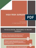 High Risk Surgery