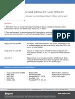 Nagios Ports and Protocols