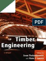 Timber Engineering, Sven Thelandersson