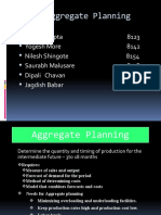 Aggregate Planning MMS-A