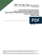 3GPP Acoustic Test Spec