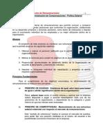 Unidad a PRINCIPIOS Administracion de Compensaciones