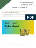F8913C ZigBee Module Technical Specification V2.0.0