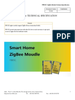 F8913C ZigBee Module Technical Specification V2.0.0