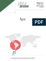 Aulaaovivo Geografia Agua 21-12-2016