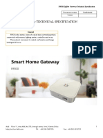 F8920 ZigBee Gateway Technical Specification V2.0.0