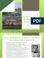 El gran hotel Bolívar Perú