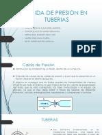 Caida de Presion en Tuberias