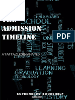 The Admission Timeline