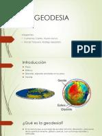 GEODESIA EXPOSICIÓN
