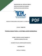 Resumen Teconologías de Estimulación Sensorial.