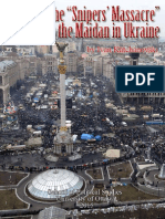 BOOK Katchanovski Snipers Massacre in Kiev 2014 Otawa 2015