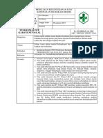 Sop Penilaian Kelengkapan Dan Ketepatan Isi Rekam Medis
