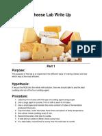 Cheese Lab Write Up