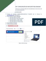 Configuracion Forticlient Windows