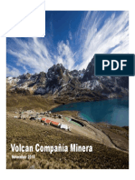 Volcan Corp Presentation BTG (Chile)