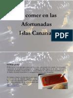 La Gastronomia de Las Islas Canarias